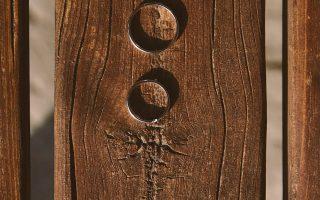 anelli legno matrimonio stile