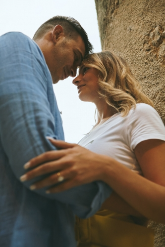 engagement in amalfi destination wedding