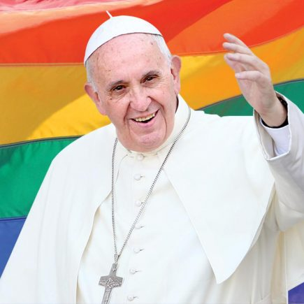 The Pope does not Bless Gay unions, even stable